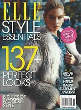 ELLE MAGAZINE STYLE ESSENTIALS SPECIAL EDITION (2015) NEW - FREE SHIP!
