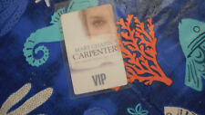 Mary Chapin Carpenter The Age Of Miracles VIP Laminate Pass