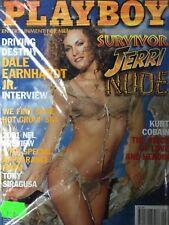 Playboy - USA/US - 09/2001 - Survivor Jerri Nude - Kurt Cobain - NEU & OVPv