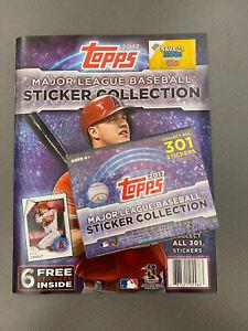 Topps Major League Baseball Sticker Box & Album for MLB Fans! 400+ Stickers ⚾️🎉