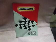 Matchbox Katalog 1985