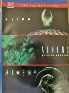 Alien / Aliens / Alien 3 Triple Feature (DVD) WORLD SHIP AVAIL