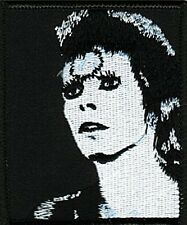 David Bowie b&w face iron-on/sew-on cloth patch  (cv)