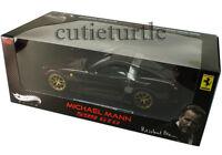 Hot Wheels Elite Ferrari 599GTO 599 GTO 1:18 Diecast Michael Mann Burgundy V7424