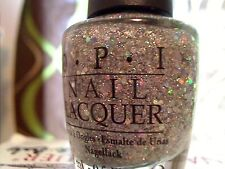 OPI SERVIN' UP SPARKLE NAIL POLISH SHIPS WORLDWIDE HOLOGRAPHIC HTF RARE LIMITED