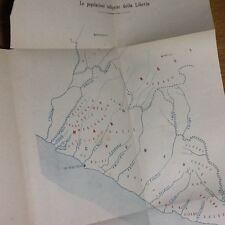 1914 - ufficio coloniale, REPUBBLICA DI LIBERIA, AFRICA, SIERRA LEONE, GUINEA