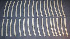 LEGO Eisenbahn alt 4,5V / 12V 32 X gebogene Schienen