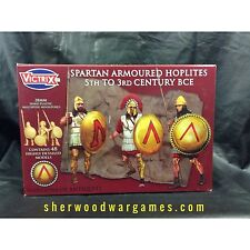 28mm Armoured Spartan Infantry By Victrix, Hail Caesar, Swordpoint Ancients