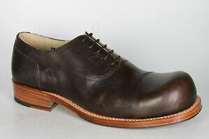 2145 HOBO Schnürschuhe CHARLY MARCELLE Darkbrown Rahmengenähte Schuhe