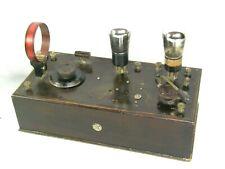Rare Antique British Martinphone No. 2 Radio Receiver Licensed Under Marconi pat