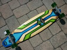 "*NEW* Sector 9 Rhythm 38"" Complete Bamboo Longboard Skateboard Drop Thru []"