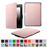 For 2012-2016 Amazon Kindle Paperwhite PU Leather SlimShell Case Auto Sleep/Wake