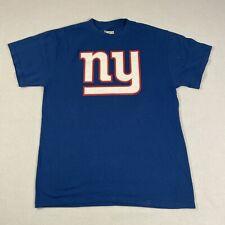 NFL Team Apparel Blue NY Giants Cruz T Shirt
