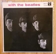 The Beatles - WITH THE BEATLES Vinyl LP 1973 RARE SPAIN Pressing Odeon EX