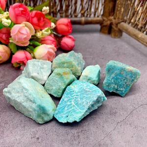 100g Natural Amazonite Rough Crystal Quartz Healing Stone Mineral Specimen