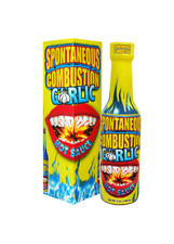 SPONTANEOUS COMBUSTION GARLIC HOT SAUCE - 5oz