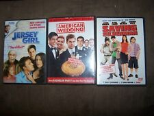 American Wedding, Saving Silverman, Jersey Girl Dvds In Excellent Shape
