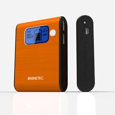 NINETEC 10.000mAh PowerBank Ladegerät für Samsung Galaxy S2 orange NT-565