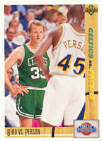 Larry Bird 1991-92 Upper Deck #30 Boston Celtics Basketball Card Chuck Person