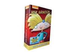 Hey Arnold!: The Complete Series Seasons 1-5 (DVD, 2014, 16-Disc Set) 1 2 3 4 5