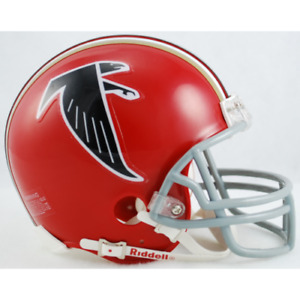 Atlanta Falcons 1966-1969 66-69 Throwback Riddell VSR4 Mini Helmet New in box