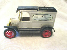 Collectible~Ertle Co~Replica Ford 1913 Model T Van~Coin Bank~70th Anniversary~
