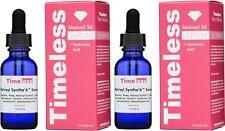 2 x The Best Timeless matrixyl synthe'6 serum + hyaluronic acid 1 oz per bottle