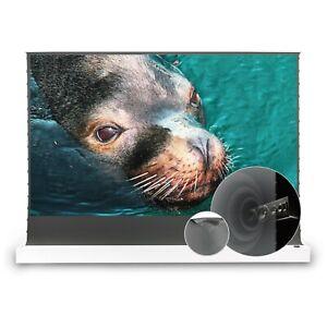 VIVIDSTORM S ALR P Electric Floor Long Throw Projector Screen Sound Transparent