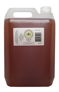 """5L Raw Apple Cider Vinegar with the """"mother"""" Made in Devon from Organic Apples"""