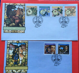Australia First Day Cover FDC - 1986 New Holland - Cook's Voyage