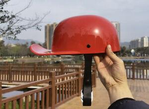 Half helmet duck bill cool cheap for dirt bike retro vintage helmet  hat