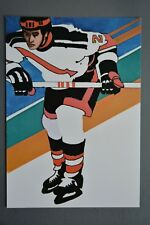 R&L Postcard: 1984 Los Angeles Olympics, Robert Peak, Ice Hockey