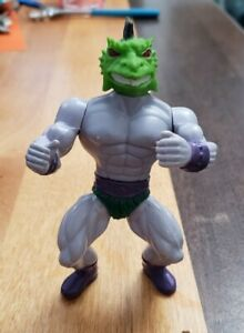 RARE! Sungold Warriors Sewco Galaxy Fighters Iguana - He-man MOTU Knockoff