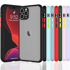 For iPhone 11 Pro XS Max XR X Shockproof Armor Slim Skin Fitted Soft Case Cover
