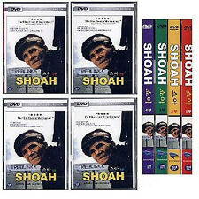 SHOAH Vol. 1-4 FULL SET / Claude Lanzmann (1985) - DVD new