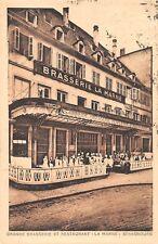 AK Strasbourg Grande Brasserie et Restaurant La Marne Postkarte 1930