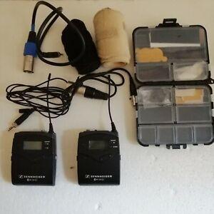 Sennheiser EW 112-P G3 Wireless System Band: GB - 606/648MHz