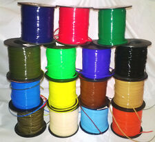 15 Scouting Colors ~ 5 Yds Each ~ 75 Yds Rexlace Gimp Plastic Lace Boondoggle