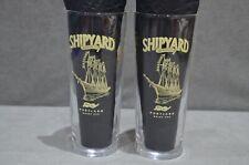 2x Shipyard Brewing Co. Portland Maine USA One Pint 20oz Beer Glass New CE M19