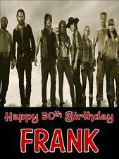 Personalised The Walking Dead Birthday Greeting Card with Envelope 291