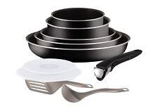 Set de poêles et casseroles TEFAL- Ingenio 5 Essential Noir - 10 Pièces