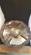 vintage Chippendale by Wallace Lazy Susan Serving Tray