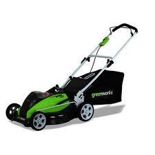 "Greenworks 40V G-MAX Li-Ion 19"" 3-in-1 Lawn Mower (BT) 2501302 New"