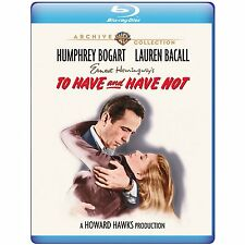 TO HAVE AND HAVE NOT (1944)  - BLU RAY - Region free