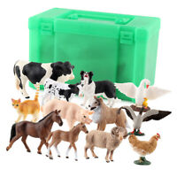 Farm Animals Figure Cartoon Shepherd Collection Puzzle Learning Toy For Kids