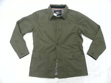 Quiksilver Waterman Collection Passport Olive Military Button Down Jacket