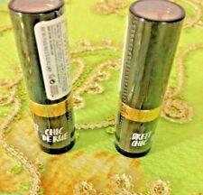 Lot Of 2 Revlon Super Lusturous Lipstick 044 Bare Affair ~ Creme ~ Sealed + Gift