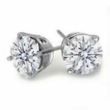Stud VVS1 Fine Diamond Earrings