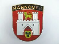 Hannover Wappen Metall Magnet Germany Deutschland Souvenir,Neu