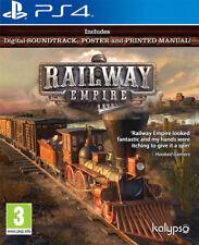 Railway Empire PS4 Game